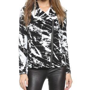 Helmut Lang Tera Print Sweatshirt Hooded Jacket S